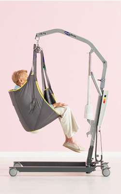 Invacare Birdie Hoist In Use